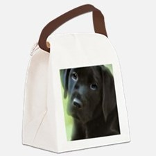 BlackLabPuppy2006 Canvas Lunch Bag
