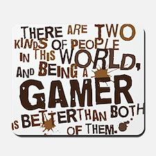 gamer_two_brown Mousepad