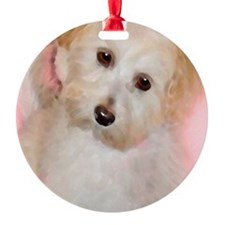 Maltipoo Ornament