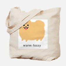 warmfuzzybottleCP Tote Bag