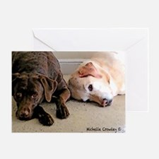 ScoutBudSnoozing Greeting Card
