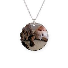 ScoutBudSnoozing Necklace Circle Charm
