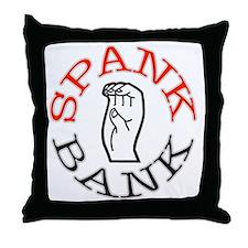 Spank Bank Throw Pillow