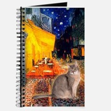 Cafe & Blue Abbysinian Journal
