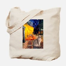 Cafe & Blue Abbysinian Tote Bag