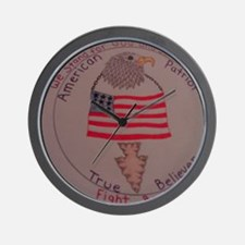 American patriot true believers Wall Clock