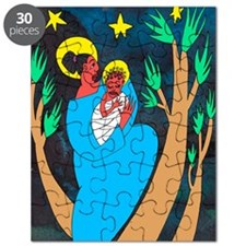 madonna and child colour Puzzle
