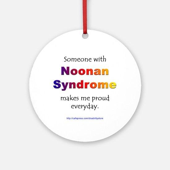 Noonan Pride Ornament (Round)