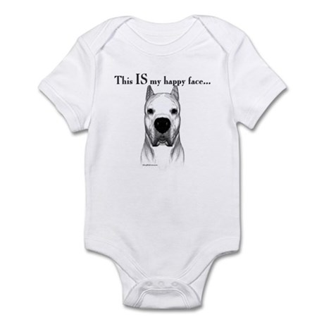 Dogo Happy Face Infant Bodysuit