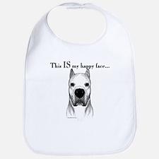 Dogo Happy Face Bib
