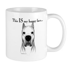 Dogo Happy Face Coffee Mug
