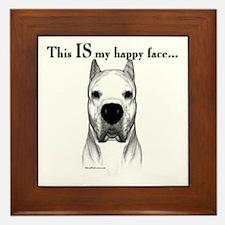 Dogo Happy Face Framed Tile