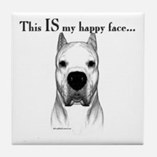 Dogo Happy Face Tile Coaster