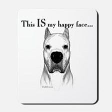 Dogo Happy Face Mousepad