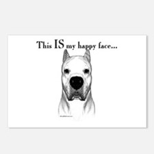 Dogo Happy Face Postcards (Package of 8)