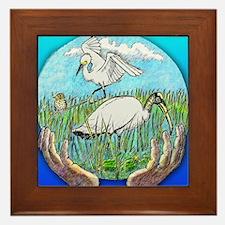 Everglades Framed Tile