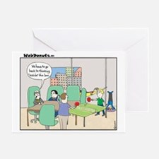 Marketing-in-the-box Greeting Card