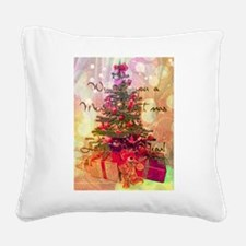 Christmas tree Square Canvas Pillow