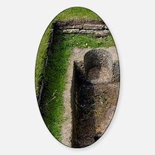 St. Andrews. St. Andrews cemetaryot Sticker (Oval)