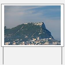 Rock of Gibraltar (aka Jabal al Tariq).  Yard Sign