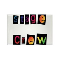 Stage Crew Rectangle Magnet