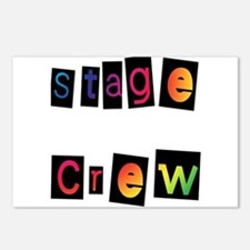 Stage Crew Postcards (Package of 8)