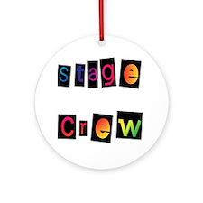 Stage Crew Ornament (Round)