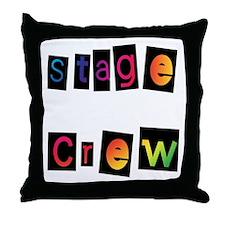 Stage Crew Throw Pillow