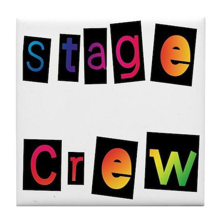 Stage Crew Tile Coaster
