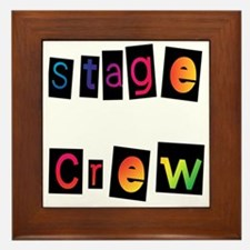 Stage Crew Framed Tile