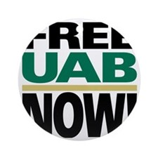 FREE UAB NOW 4x4 Round Ornament