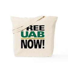FREE UAB NOW 6x6 Tote Bag