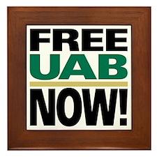 FREE UAB NOW 6x6 Framed Tile
