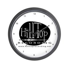 Hilltop Recording Wall Clock