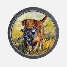 Chessie w Ph Master for CafePress Wall Clock