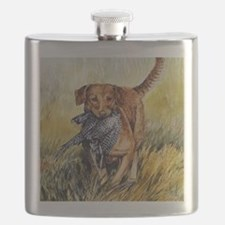 Chessie w Ph Master for CafePress Flask