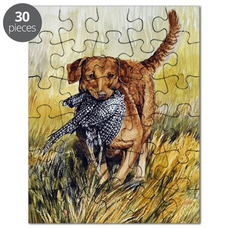 Chessie w Ph Master for CafePress Puzzle