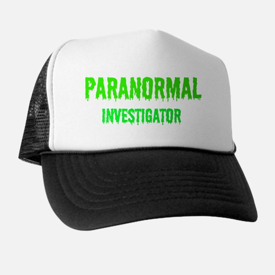 Creepy Legends Paranormal Investigator Trucker Hat
