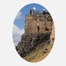 Beautiful famous giant Edinburgh Cas Oval Ornament