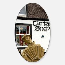Tartan Shop. Decal