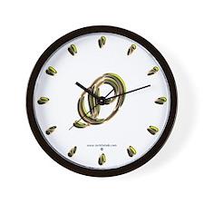 Phyllis Initial O Wall Clock