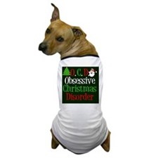 obsessivechristmasdisordercal Dog T-Shirt