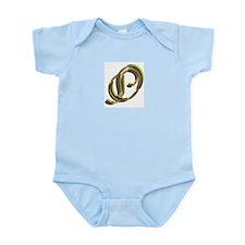 Phyllis Initial O Infant Creeper