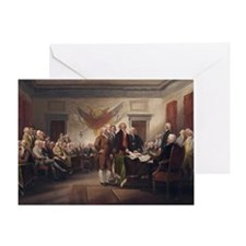 declaration-of-independence-trumball Greeting Card