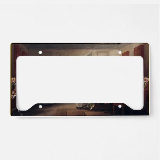 declaration-of-independence-t License Plate Holder