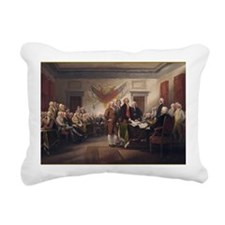 declaration-of-independe Rectangular Canvas Pillow