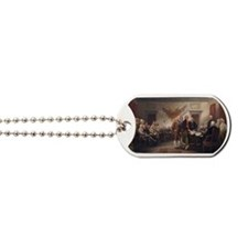 declaration-of-independence-trumball-bord Dog Tags
