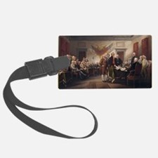 declaration-of-independence-trum Luggage Tag