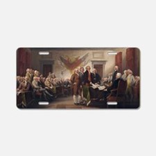 declaration-of-independence Aluminum License Plate