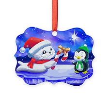 Christmas Seal Ornament